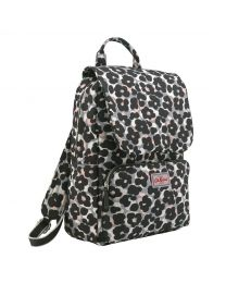 Leopard Flower Smart Backpack