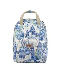 London Toile Multi Pocket Backpack