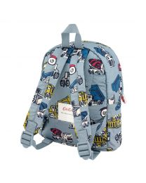 Trucks And Diggers Kids Lightweight Mini Rucksack