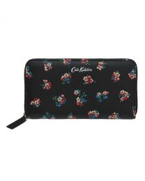 Woodstock Ditsy Printed Leather Continental Wallet