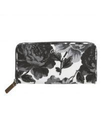 Peony Blossom Continental Zip Wallet