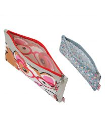 Set of Two Pets Party Poly Pouches