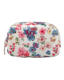Woodstock Flowers Classic Box Cosmetic Bag