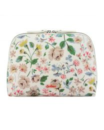 Pressed Flowers Curved Top Wash Bag