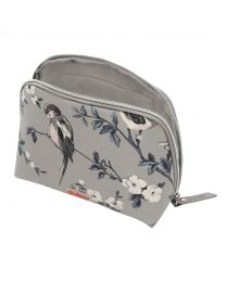 British Birds Curved Top Cosmetic Bag