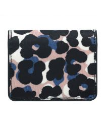 Leopard Flower Card Purse
