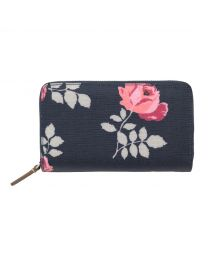 Brooke Rosebud Double Zip Purse