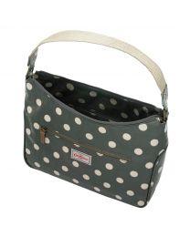Button Spot Curve Shoulder Bag