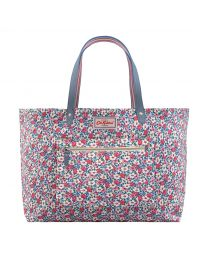 Meadowfield Ditsy Reversible Shoulder Tote