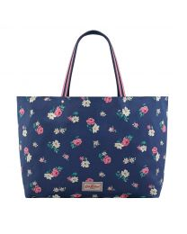 Brooke Rosebud Reversible Shoulder Tote