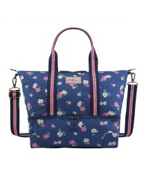 Hampstead Ditsy Foldaway Double Decker Travel Bag - Small
