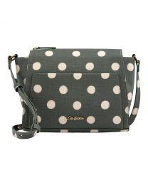 Button Spot Pocket Cross Body Bag