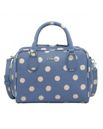 Button Spot Midi Box Bowler
