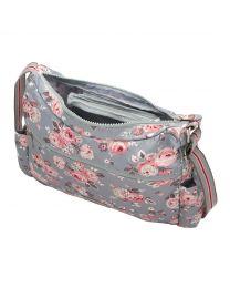 Wells Rose Foldaway Zipped Cross Body Bag