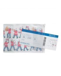 Marching Band PVC Passport Holder