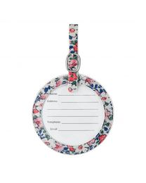 Meadowfield Ditsy Round Luggage Tag