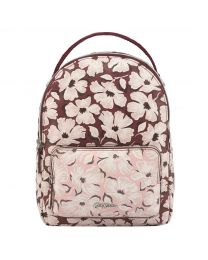 Stamp Floral Mini Cross Body Backpack