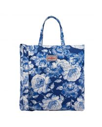Peony Blossom Double Handle Cotton Bag