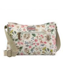 Pressed Flowers Zipped Cross Body