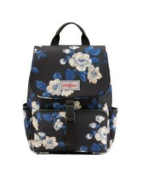 Crescent Rose Buckle Backpack