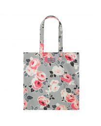 Paper Rose Cotton Bookbag