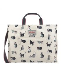 Painted Cats Strappy Carryall