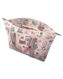 London Spots Foldaway Overnight Bag