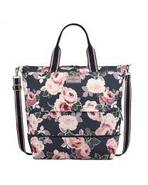 Paper Rose Expandable Travel Bag