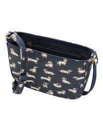 Mini Mono Dogs Curved Saddle Bag