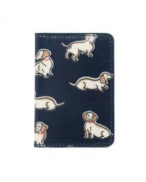 Mini Mono Dogs Two-fold Ticket Holder