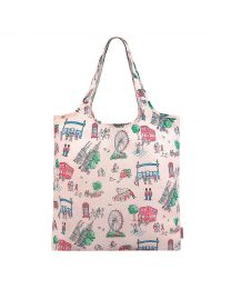 London Spots Foldaway Shopper