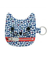 Friendship Flowers Junior Cat Zip Purse
