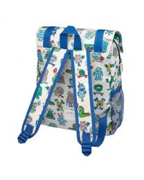 Monsters Kids Boys Backpack With Mesh Pocket