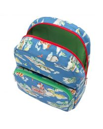 Hippos & Friends Kids Medium Padded Backpack