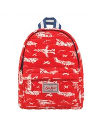 Mono Planes Kids Quilted Mini Rucksack