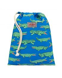Crocodile Kids Drawstring Wash Bag