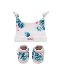 Island Bunch Hat and Bootie Gift Set
