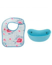 Henley Bloom Kids Bib With Food Catcher