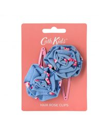 Scattered Rose Kids Rose Hair Clips