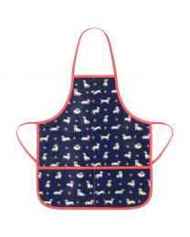 Mono Dog Heart Kids Apron