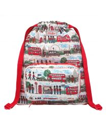London Streets Kids Foldaway Drawstring Backpack