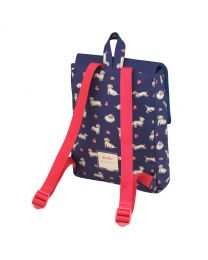 Screen Printed Sausage Dog Medium Backpack