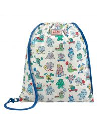 Kids Screen Print Monster Reversible Drawstring Bag