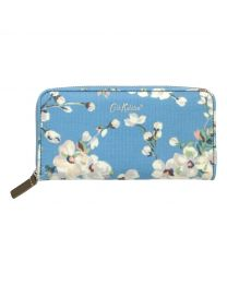 Wellesley Blossom Continental Zip Wallet