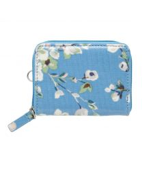 Wellesley Blossom Zipped Travel Purse