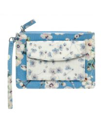 Wellesley Blossom Wristlet Purse