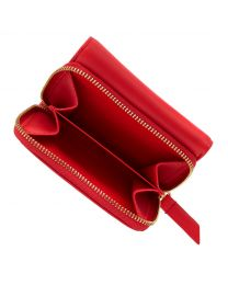 Small Leather Compact Wallet