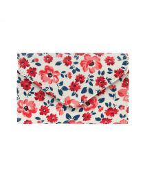 Island Flowers Envelope Z Fold Wallet