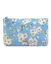 Wellesley Blossom Matt Zip Cosmetic Bag