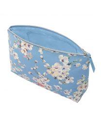 Wellesley Blossom Matt Zip Wash Bag